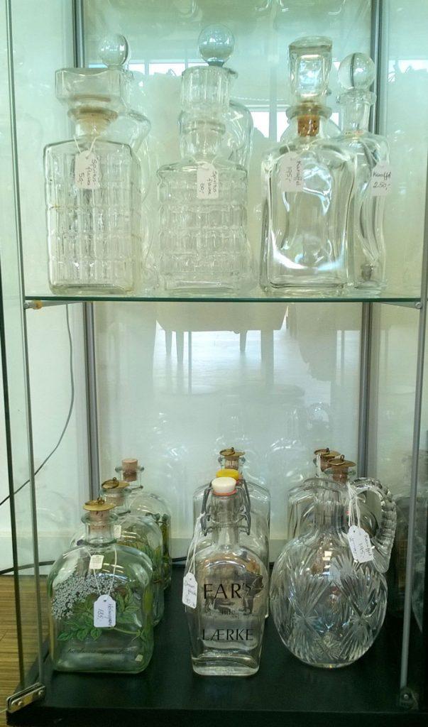 boligtilbehoer klukflasker karafler dram spiritusflasker glas