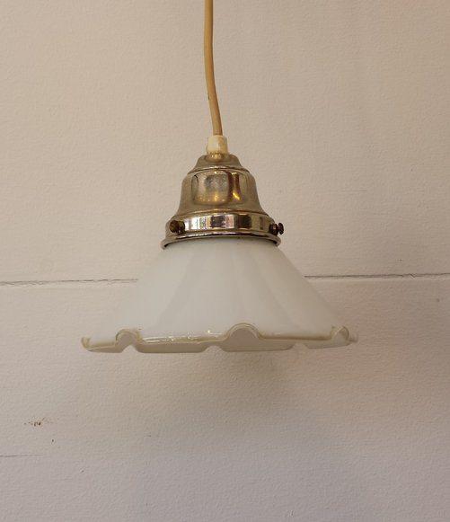 boligtilbehoer loftslampe glas lille fin