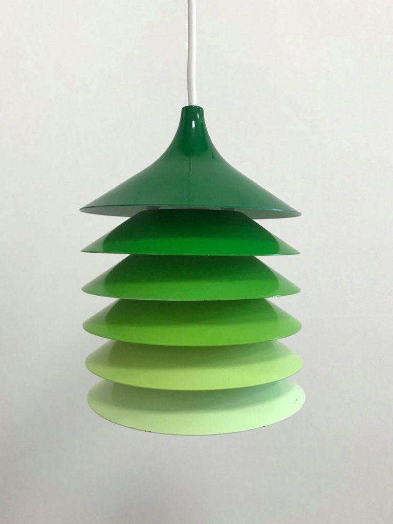 boligtilbehoer loftslampe ikea groenne farver