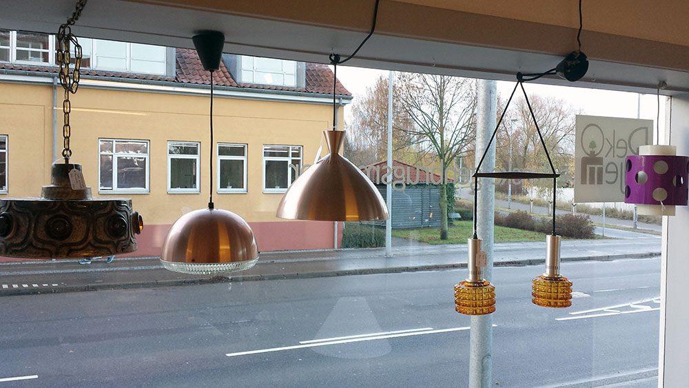 boligtilbehoer pendler blandede jette helleroe keramik glas kobber