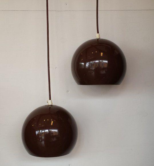 boligtilbehoer pendler brune metal
