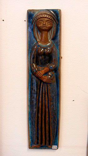 boligtilbehoer relief michael andersen keramik aflang