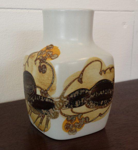 boligtilbehoer vase royal copenhagen fajance hvid