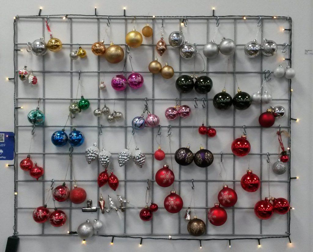 dekohjem boligtilbehoer retrojulepynt julekugler glas
