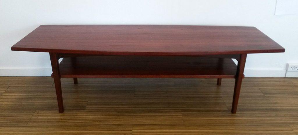 moebler sofabord baadformet teak