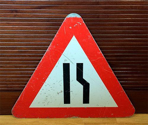boligtilbehoer vejskilt trekantet