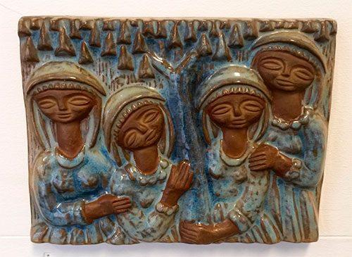 boligtilbehoer relief michael andersen keramik