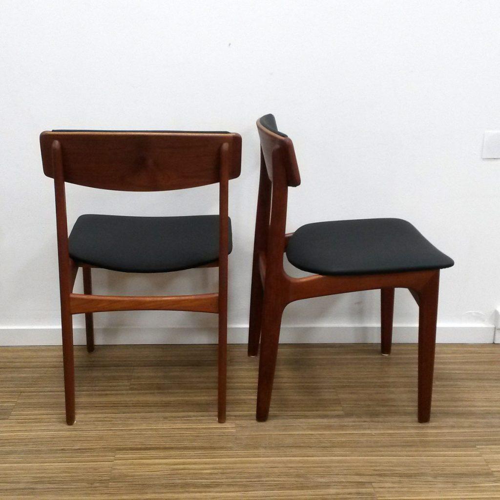 utrolig flotte spisestole teak fra thorsoe moebelfabrik