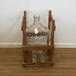flot vinballon i glas