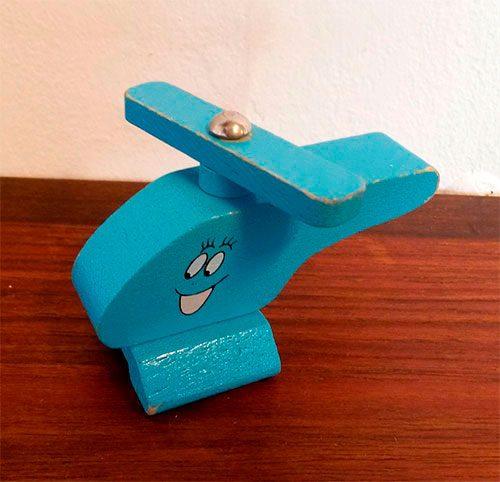 boligtilbehoer varia barbapappa flyvemaskine trae