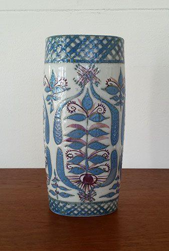 boligtilbehoer vase keramik marianne johnson vinroed
