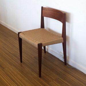 spisebordsstol flet teak