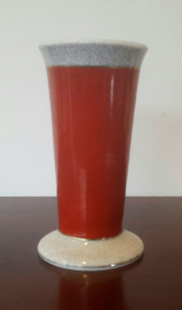 boligtilbehoer vase bordeaux mayfair craquele keramik
