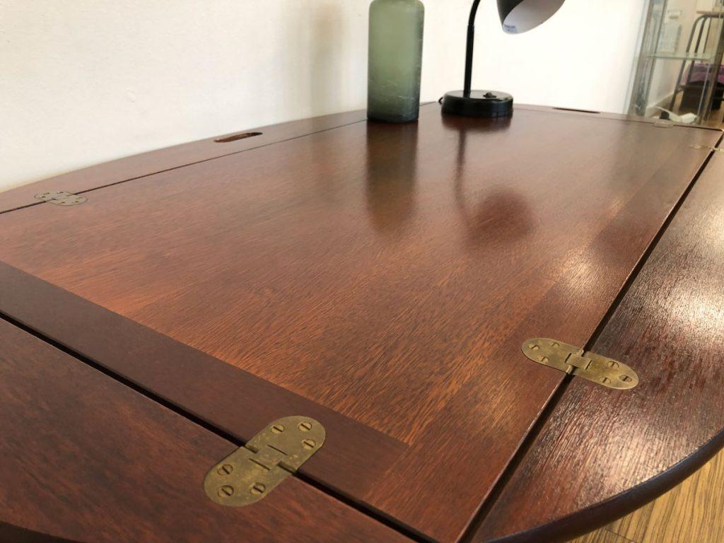bakkebord mahogni