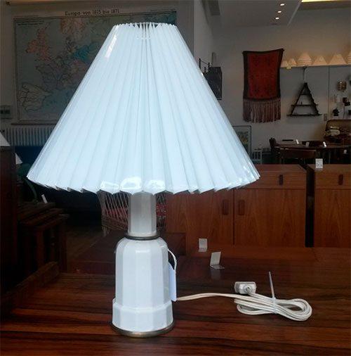 boligtilbehoer bordlampe heiberg porcelaen soeholm