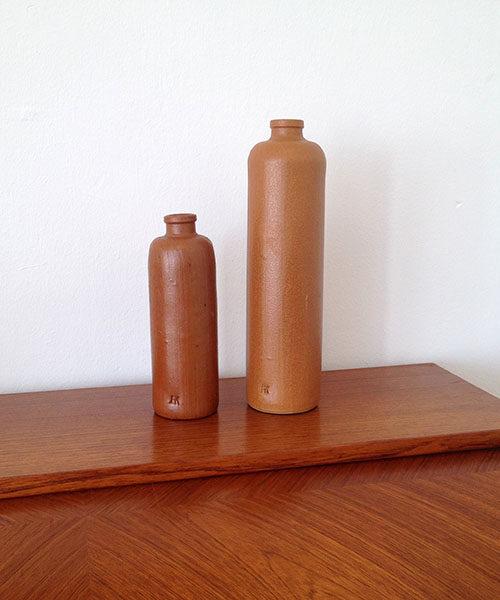 boligtilbehoer vaser keramik ak  brun