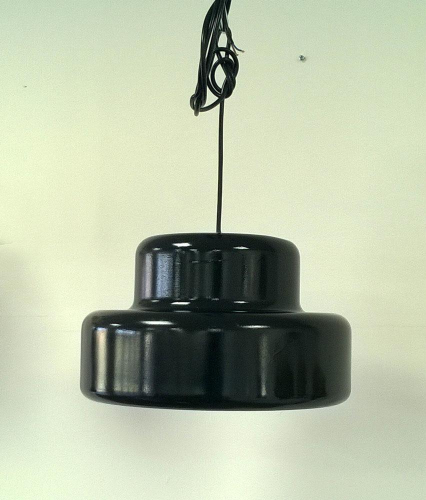 boligtilbehoer belysning pendel louis poulsen sort metal
